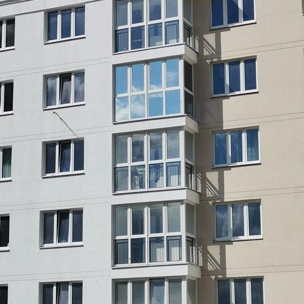 тонировка замена стекла на стеклопакет балкон
