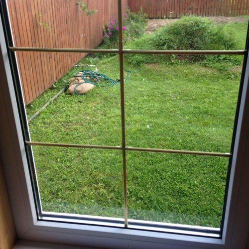 сстеклопакет который заменили в пвх окне
