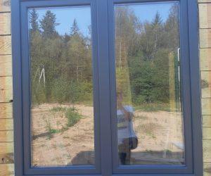 окно цвет антрацит